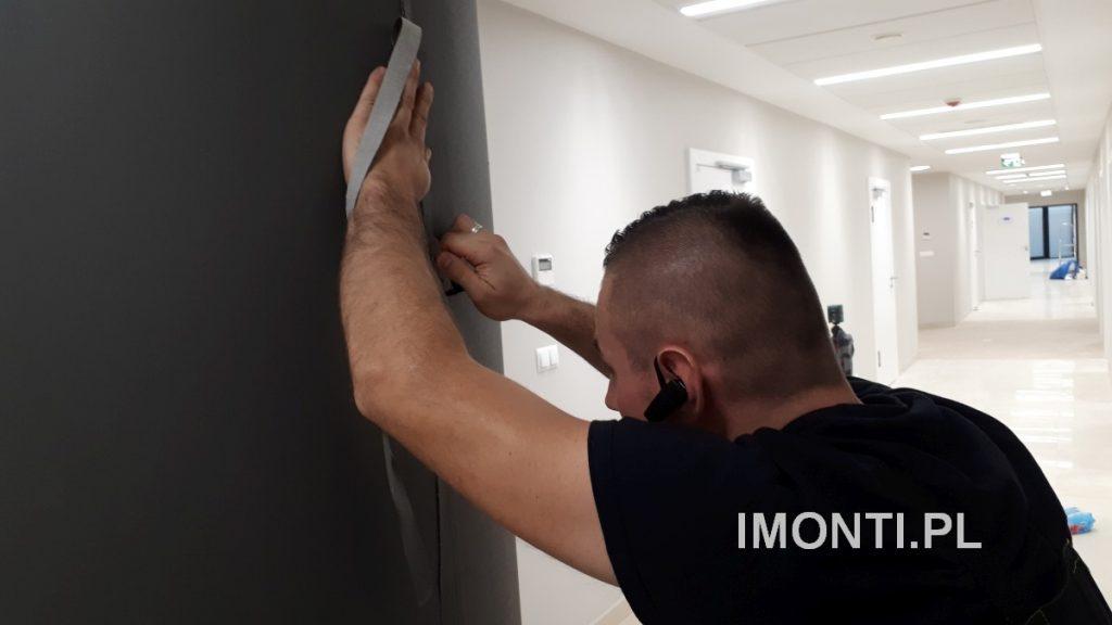 Tapetowanie, fototapety, klejenie tapet i fototapet - fit-out - montaż